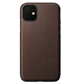 Nomad Rugged Leather Case for iPhone 11 - Brown