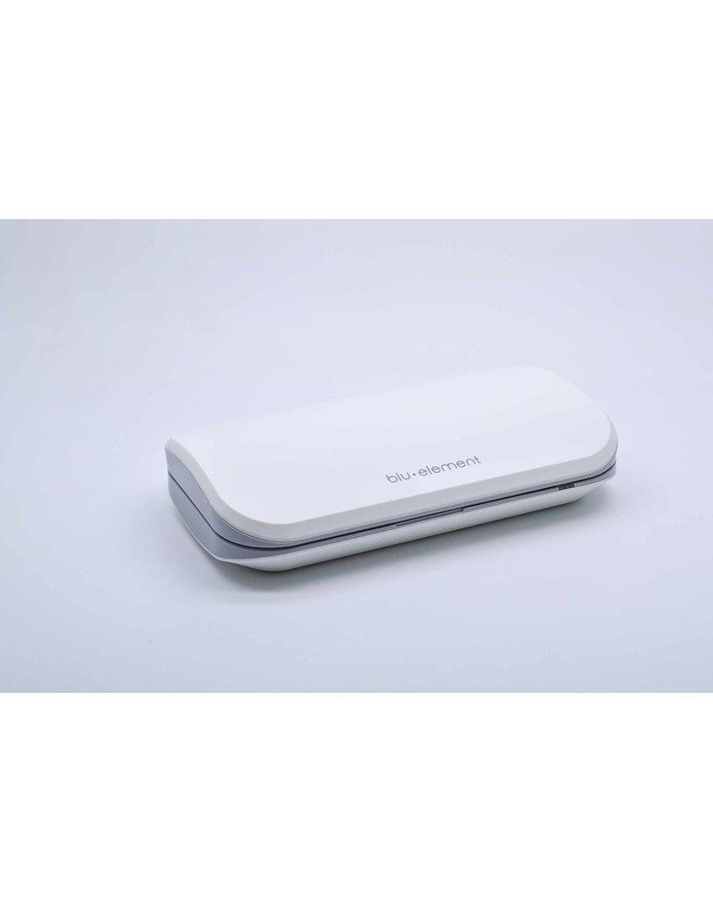 Blu Element Étui désinfectant UV portatif pour téléphone - Blanc