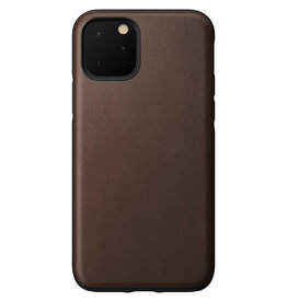 Nomad Leather Protective Case for iPhone 11 Pro - Brown