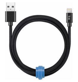 Blu Element Lightning Cable - 4 Feet (1.2m) - Black