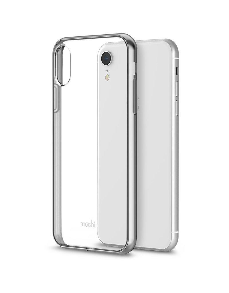 Moshi Étui de protection pour iPhone Xr - Argenté