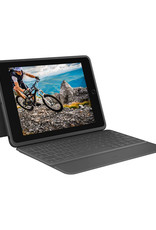 Logitech Étui-clavier Folio robuste pour iPad 10.2 Po (7e/8e Gen) - Noir