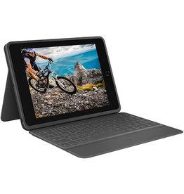 """Logitech Keyboard Rugged Folio Case for iPad 10.2"""" (7th/8th Gen) - Black"""