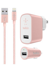 Belkin Charging Kit for iPhone and iPad - Rose Gold