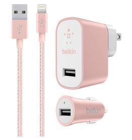 Belkin Ensemble de recharge pour iPhone et iPad  – Rose or