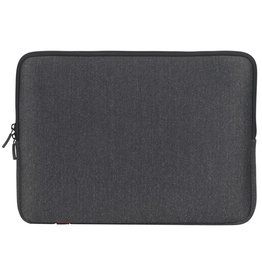 "RIVACASE Laptop Sleeve for 15"" and 16"" - Black"
