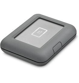 LaCie DJ Copilot Portable External Hard Drive 2.5 USB-C /  USB 3.0 /  Lightning /  SD /  MicroSD - 2Tb