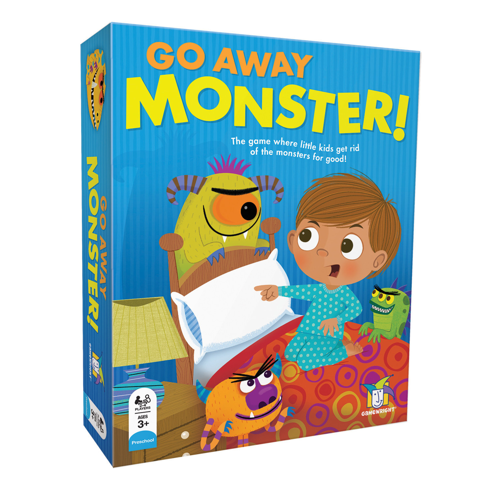 Gamewright Go Away, Monster!