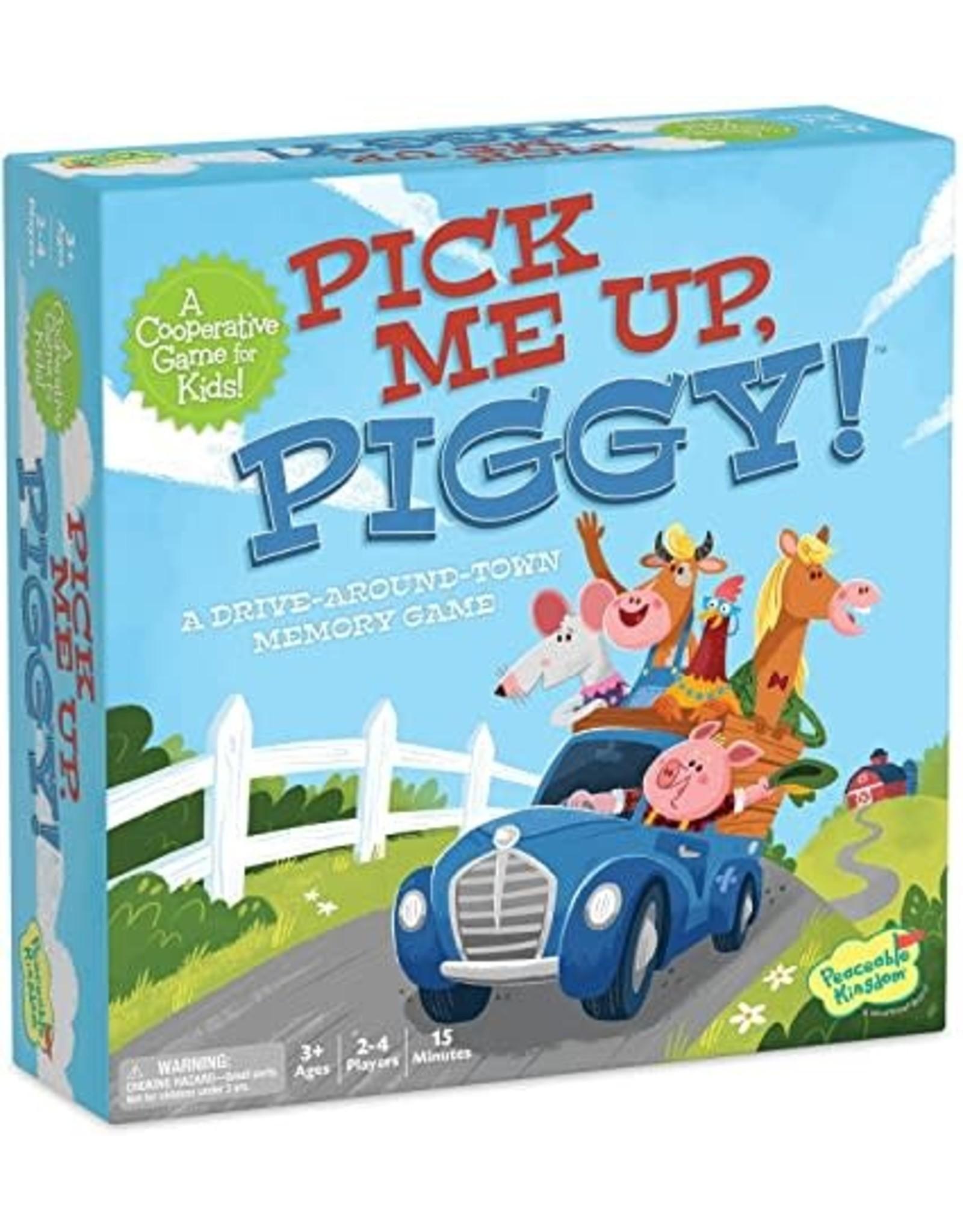 Peaceable Kingdom Pick Me Up, Piggy