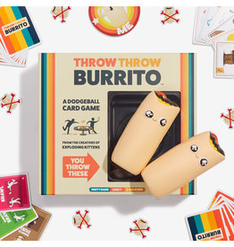 Exploding Kittens Throw Throw Burrito