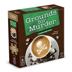 BePuzzled Grounds for Murder Mystery Puzzle - 1000 Piece Jigsaw Puzzle