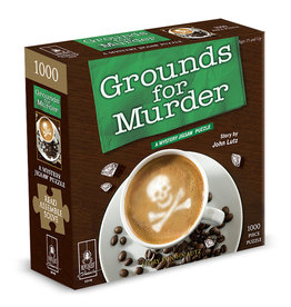 BePuzzled Grounds for Murder Mystery Puzzle 1000p