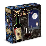 BePuzzled Foul Play & Cabernet Mystery Puzzle - 1000 Piece Jigsaw Puzzle