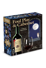 BePuzzled Foul Play & Cabernet: A Mystery Jigsaw Puzzle (1000 pieces)