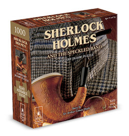 BePuzzled Sherlock Holmes Mystery Puzzle - 1000 Piece Jigsaw Puzzle
