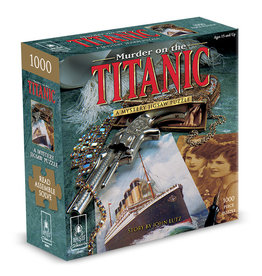 BePuzzled Murder on the Titanic Mystery Puzzle 1000p
