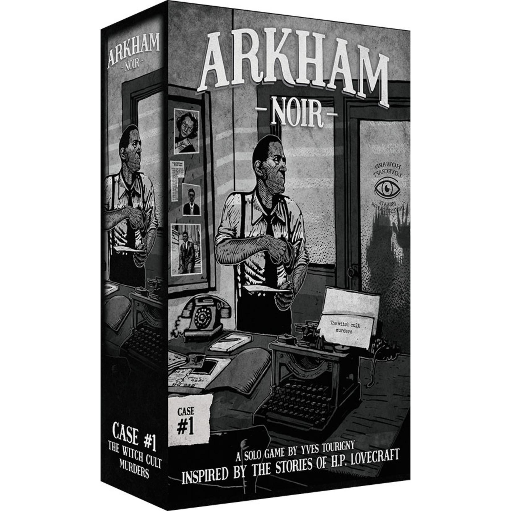 Ludonova Arkham Noir: Case 1 The Witch Cult Murders