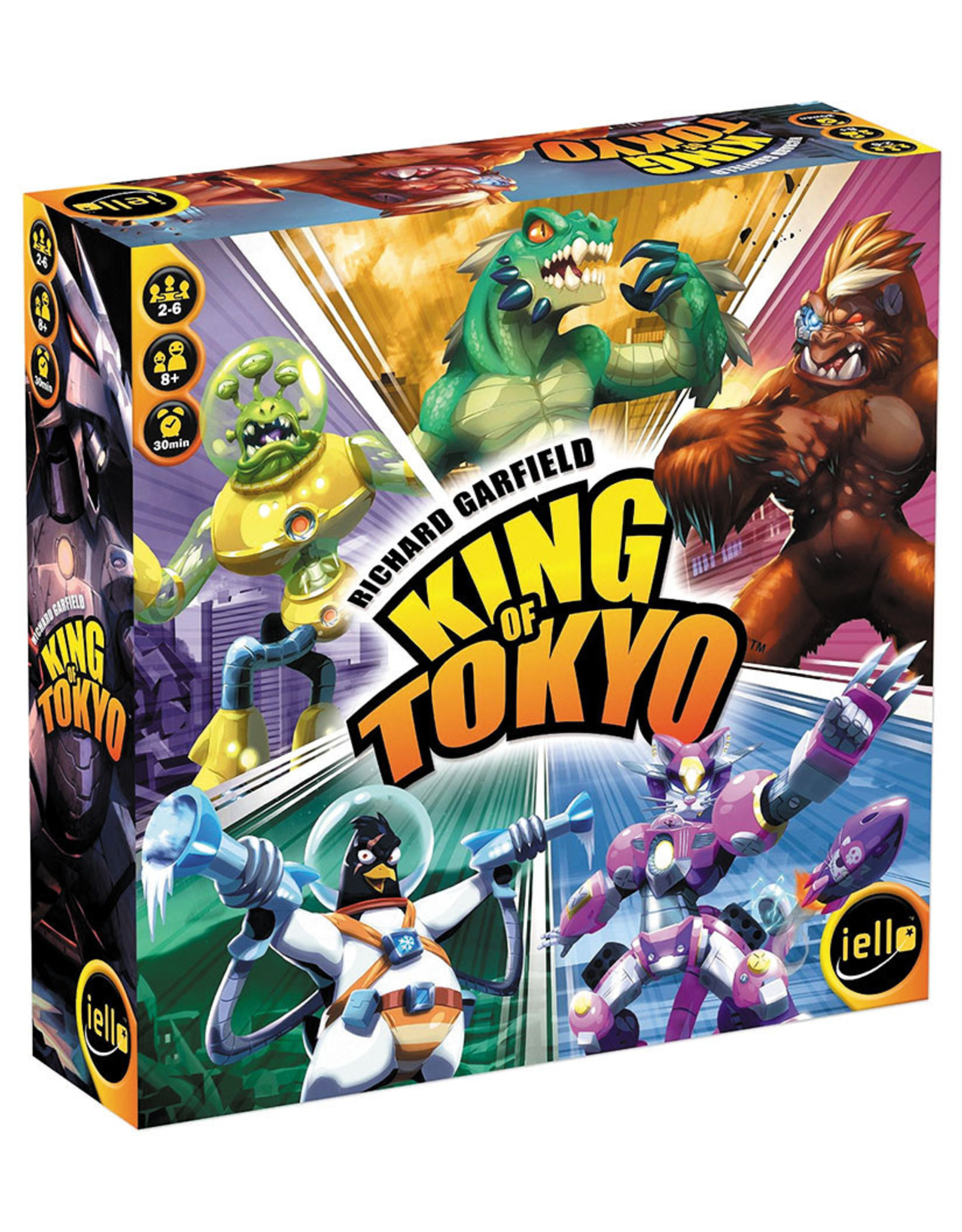Iello King of Tokyo (Second Edition)