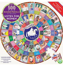 Eeboo Votes for Women - 500 Piece Jigsaw Puzzle