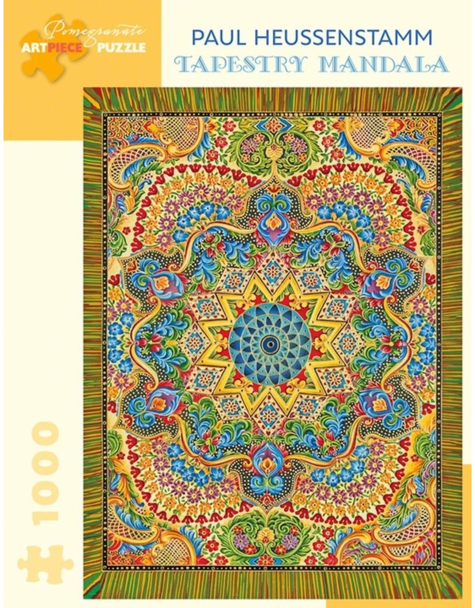 Pomegranate Tapestry Mandala 1000p
