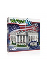 Wrebbit The White House 3D Puzzle (490 pieces)