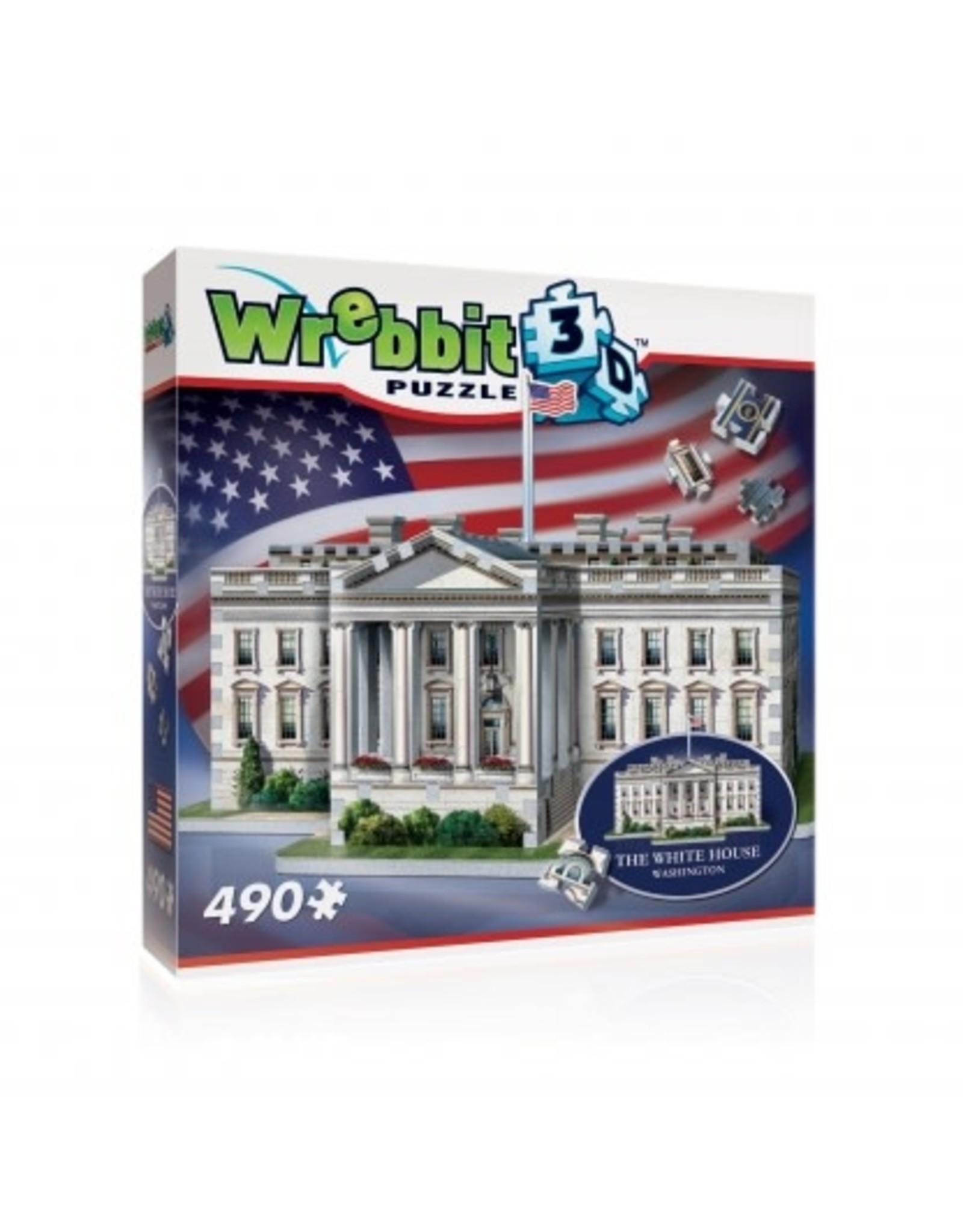 Wrebbit The White House 3D Puzzle 490p