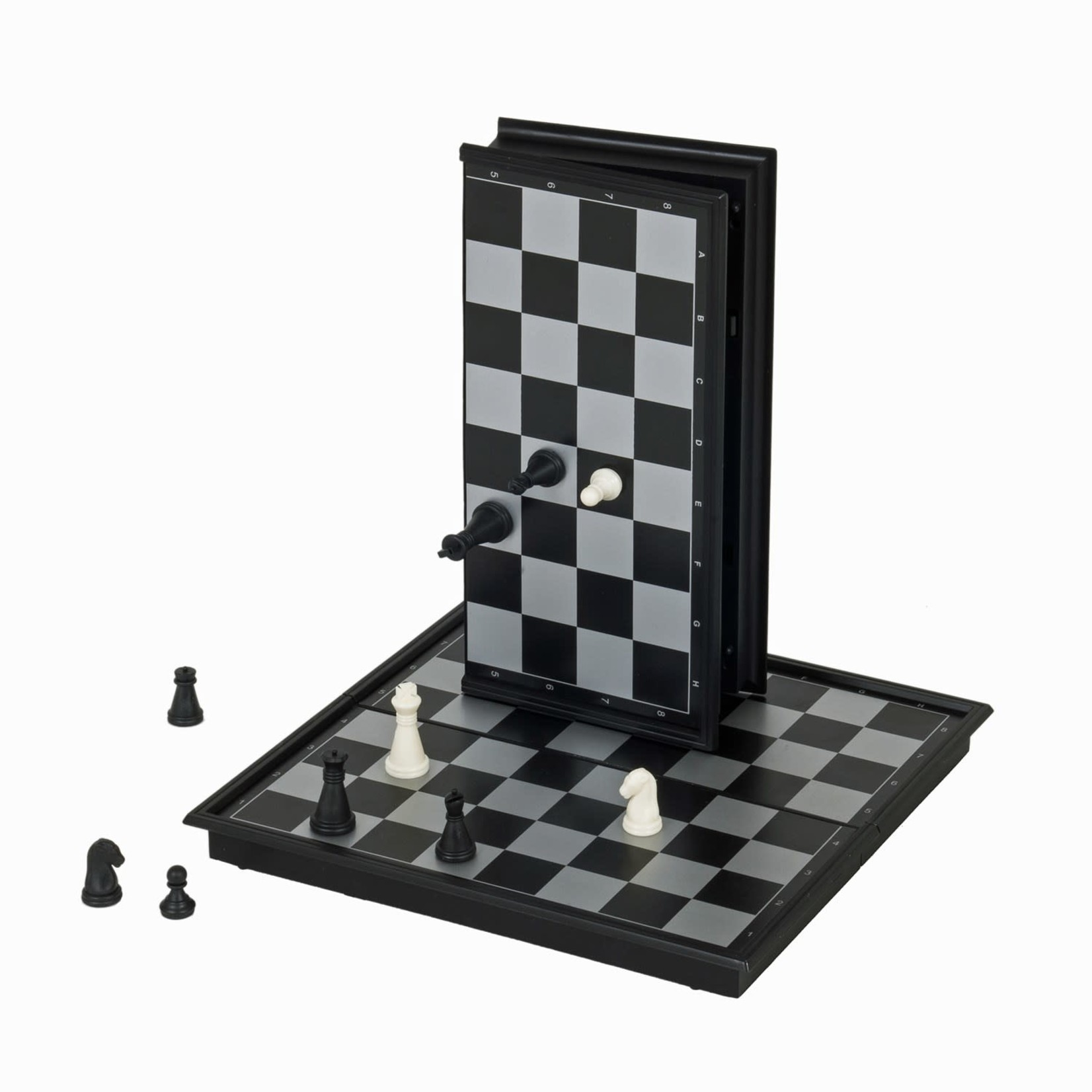 """Wood Expressions Chess Set 8"""" Magnetic"""