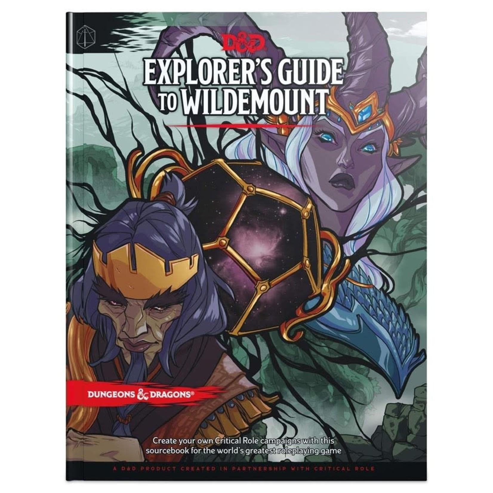 Dungeons & Dragons D&D 5e Explorer's Guide to Wildemount