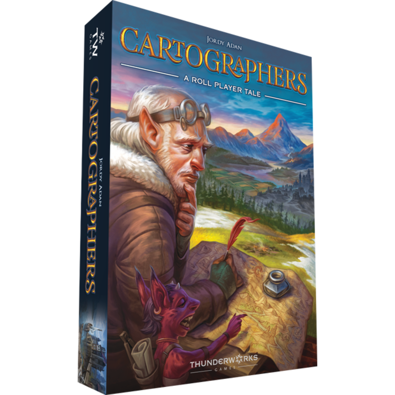 Thunderworks Games Cartographers A Roll Player Tale