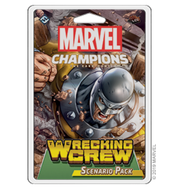 Fantasy Flight Games Marvel Champions LCG Scenario - The Wrecking Crew