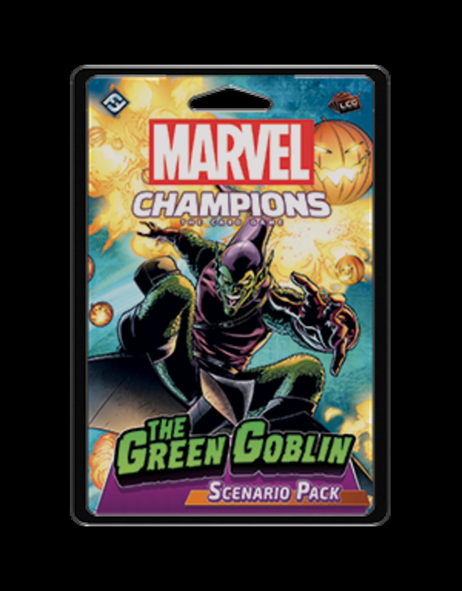 Fantasy Flight Games Marvel Champions LCG Scenario - The Green Goblin
