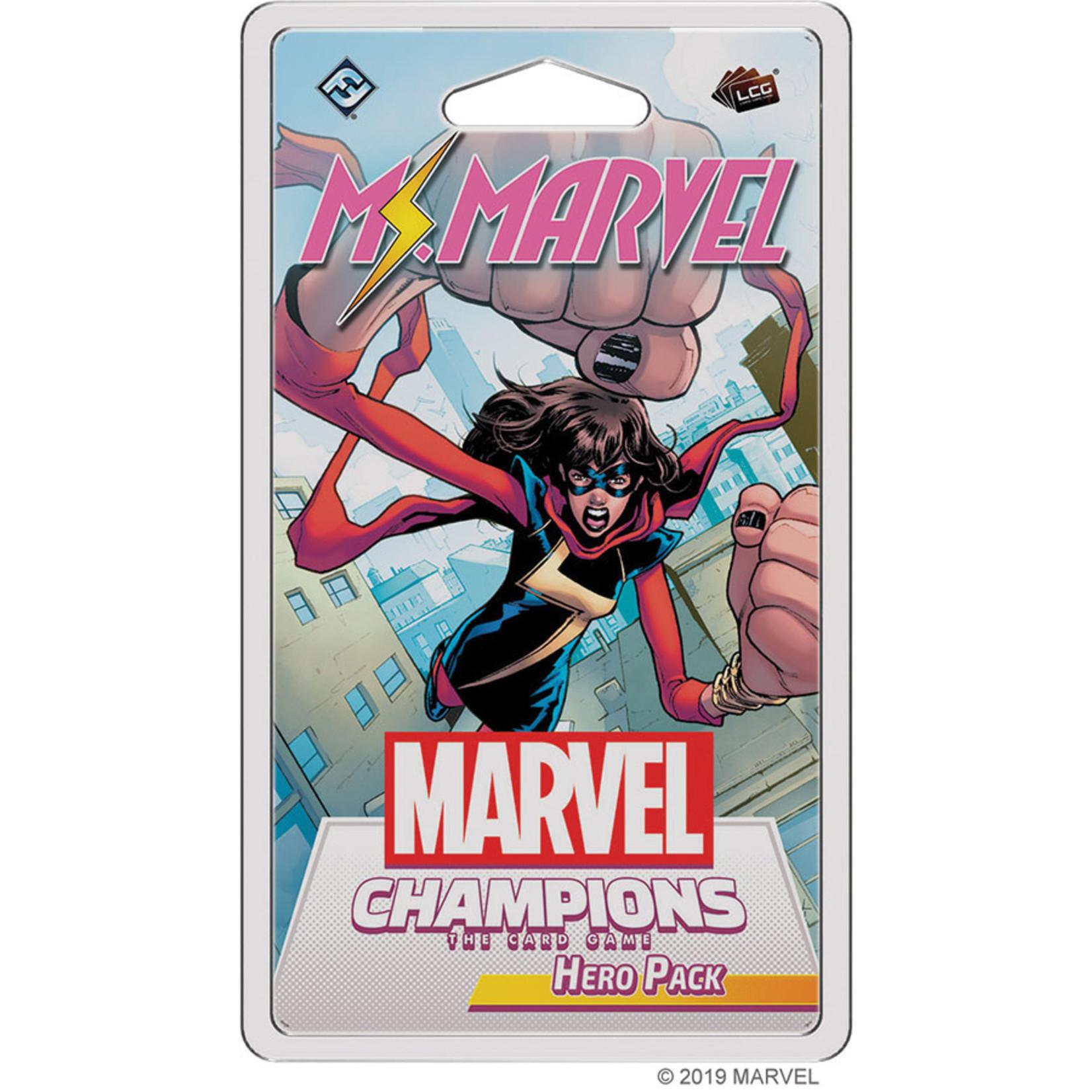 Fantasy Flight Games Marvel Champions LCG Hero - Ms. Marvel (Expansion)