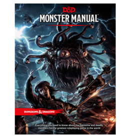 Dungeons & Dragons D&D 5e Monster Manual
