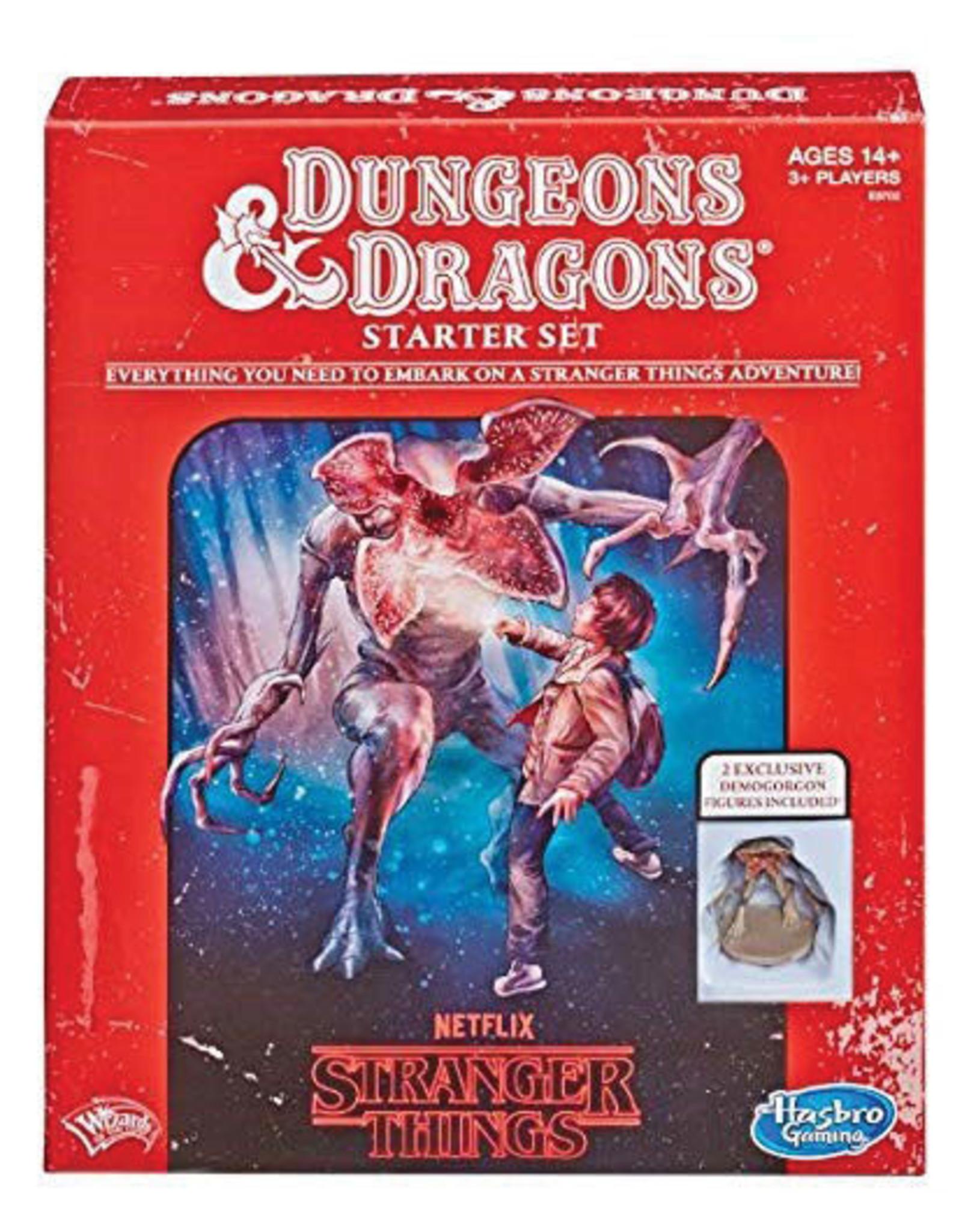 Hasbro D&D 5e Stranger Things Starter Set