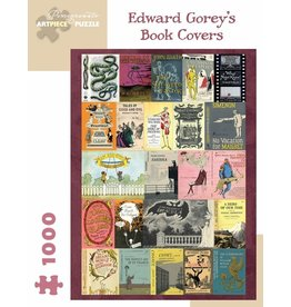 Pomegranate Edward Gorey Book Covers 1000p
