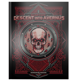 Dungeons & Dragons D&D 5e Baldur's Gate Descent into Avernus Alternate Cover