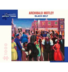Pomegranate Archibald Motley Black Belt 1000p
