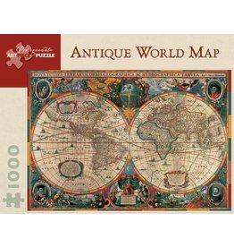 Pomegranate Antique World Map 1000p