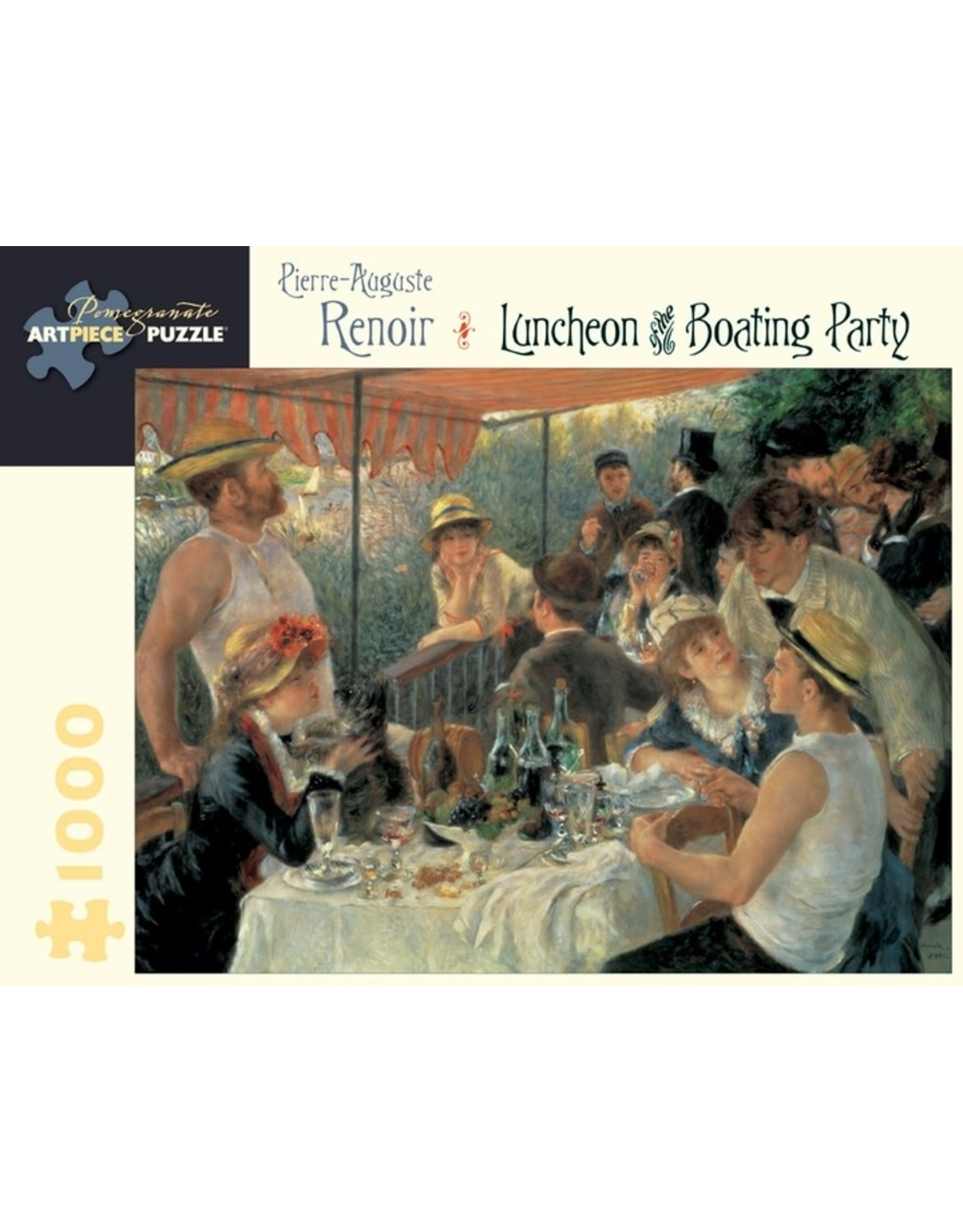 Pomegranate Pierre-Auguste Renoir: Luncheon of the Boating Party 1,000-piece Jigsaw Puzzle