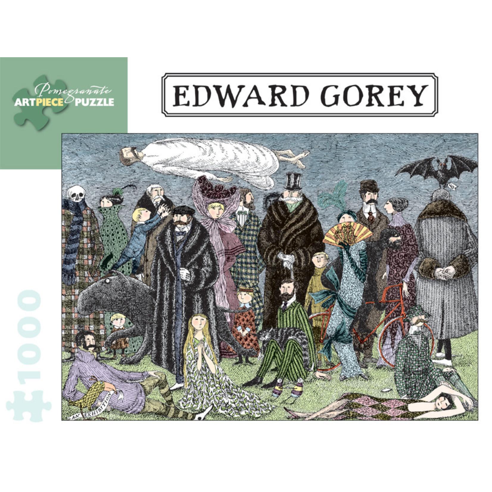 Pomegranate Edward Gorey - 1000 Piece Jigsaw Puzzle