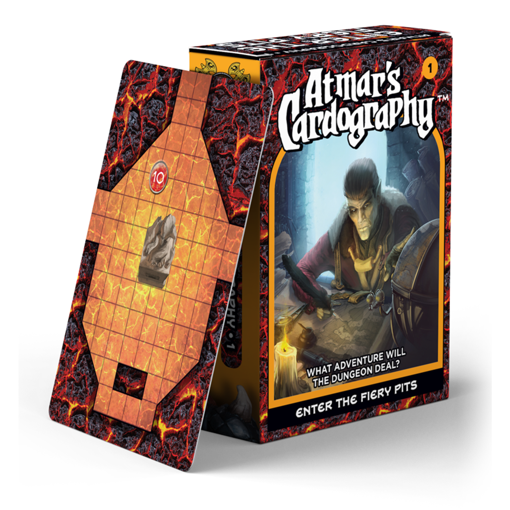 Norse Foundry Atmar's Cardography - Enter the Fiery Pits