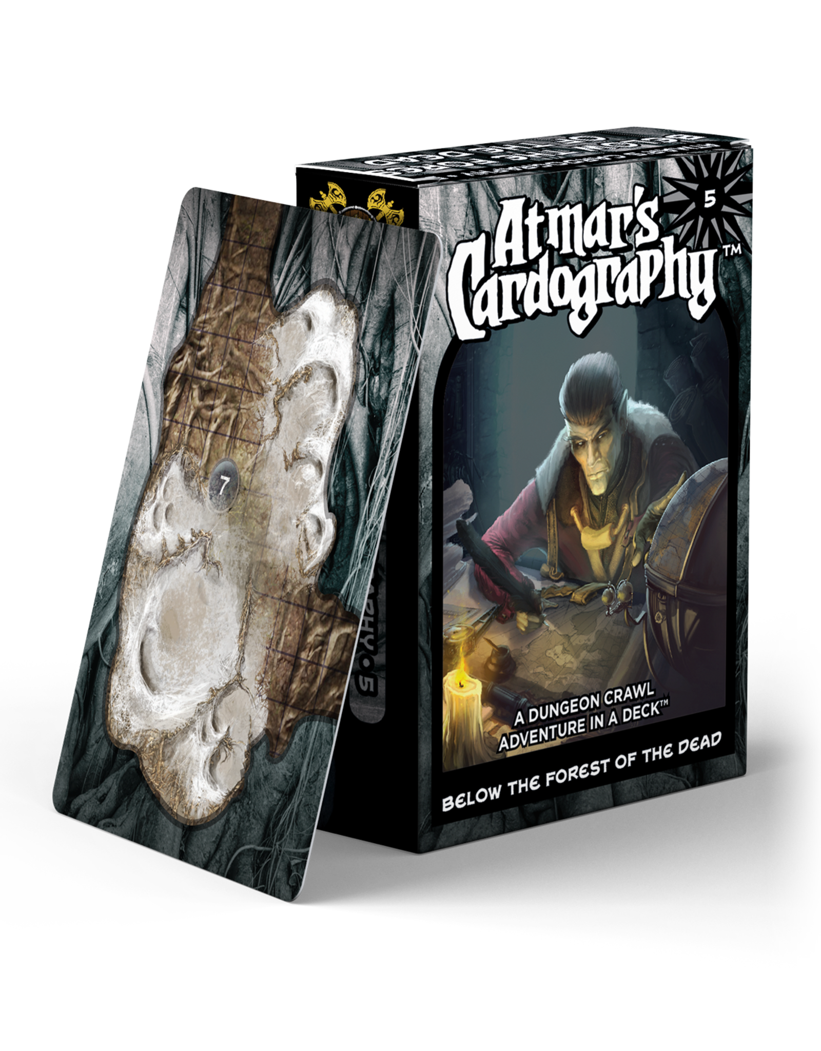 Norse Foundry Atmar's Cardography - Below The Forest Of The Dead