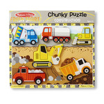 Melissa and Doug Chunky Puzzle Construction