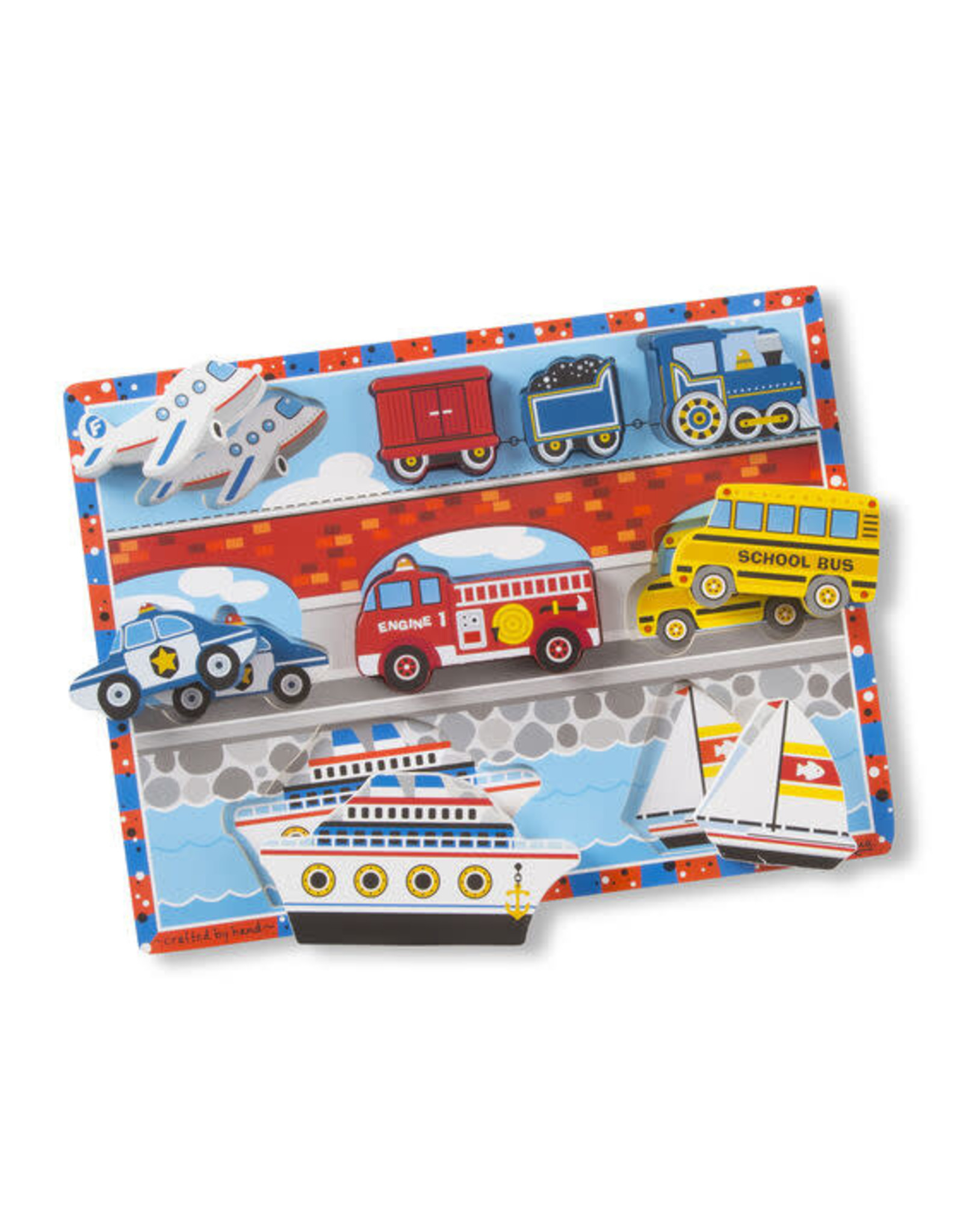 Melissa and Doug Chunky Puzzles Vehicles