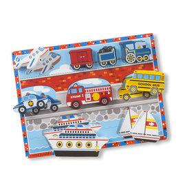 Melissa and Doug Chunky Puzzles Vehicles