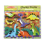 Melissa and Doug Chunky Puzzle Dinosaurs