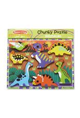 Melissa and Doug Chunky Puzzle Dinosaurs