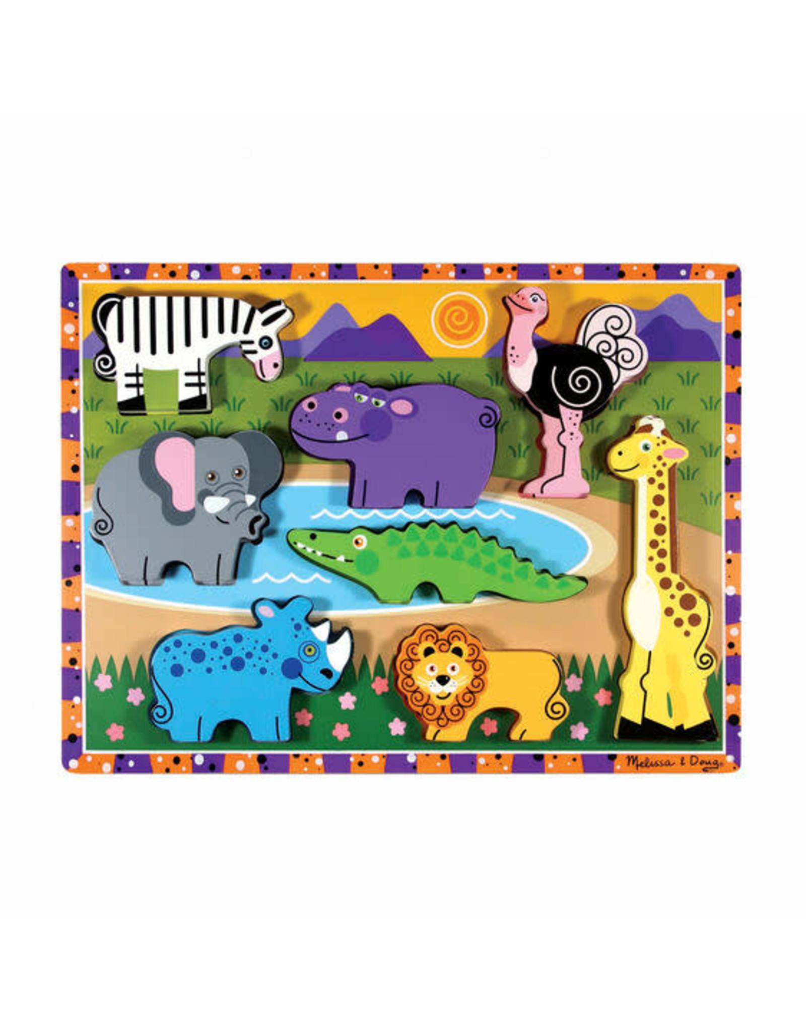 Melissa and Doug Chunky Puzzle Safari