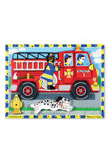 Melissa and Doug Chunky Puzzle Fire Truck