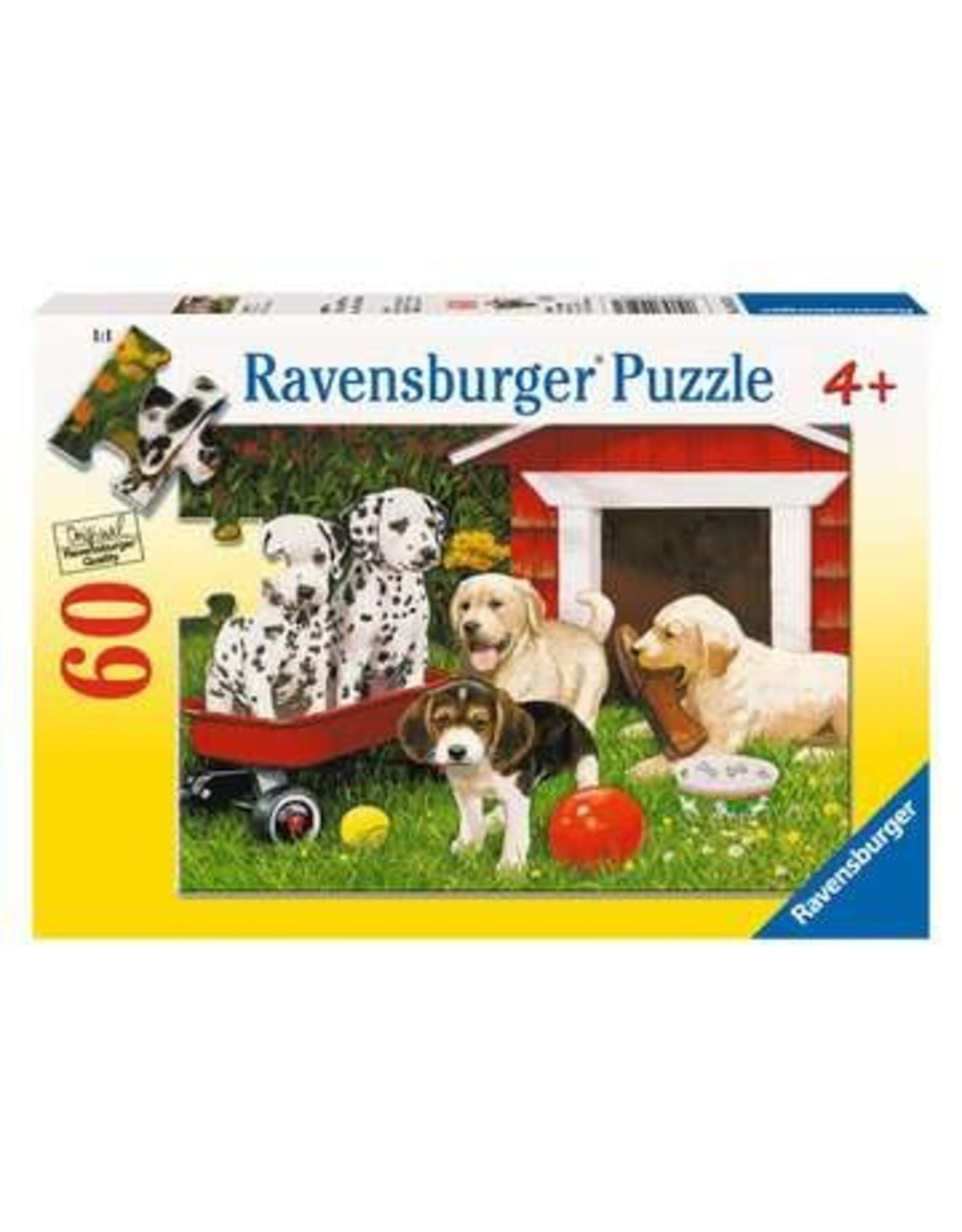 Ravensburger Puppy Party (60 pieces)